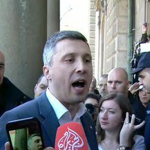 Prosvjednici dali ultimatum Vučiću, traže ostavku (Video: Dnevnik.hr)
