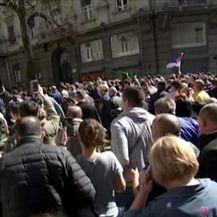Kaos u Beogradu zbog prosvjeda (Video: Dnevnik Nove TV)