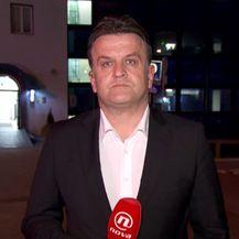 Andrija Jarak razgovara s predsjednikom ljevice srbije Borkom Stefanovićem (Foto: Dnevnik.hr)