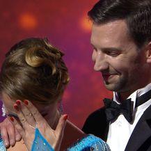 Emocionalna reakcija Josipe Pavičić Bernardini (Foto: Ples sa zvijezdama) - 1