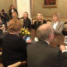Sastanak premijera Plenkovića s organizatoricama prosvjeda #spasime (Foto: Dnevnik.hr) - 2