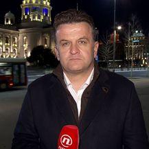 Andrija Jarak razgovara s novinarem i analitičarem Slobodanom Trupanom (Foto: Dnevnik.hr)