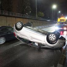 Prometna nesreća na Slavonskoj aveniji (Foto: Davor Puklavec/PIXSELL) - 2