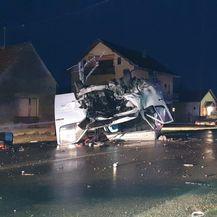 Teška prometna nesreća kod Nove Gradiške (Foto: Radiong.hr) - 4