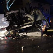 Teška prometna nesreća kod Nove Gradiške (Foto: Radiong.hr) - 6