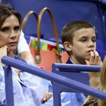 Romeo i Victoria Beckham (Foto: Getty Images)