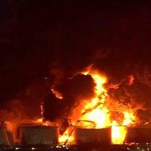 Požar u Houstonu (Video:Reuters)