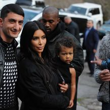 Kim Kardashian i North West (Foto: AFP)
