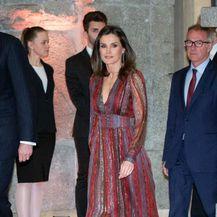 Kraljica Letizia u haljini brenda Intropia