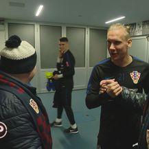 Susret braće s nogometnim idolima (Foto: Provjereno)