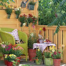Ideje za uređenje malog balkona