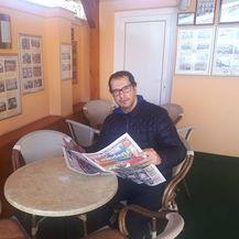 Mađarski sportski novinar Laszlo Polgar (Foto: GOL.hr)