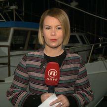 Petra Fabian Kapov izvještava o prvoj presudi za savudrijske ribare (Foto: Dnevnik.hr)