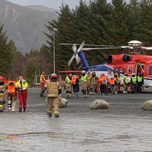 Evakuacija putnika s broda Viking Sky (Foto: Odd Roar Lange / NTB Scanpix / AFP)