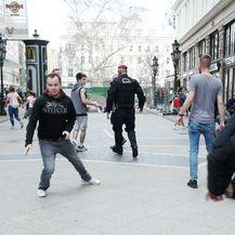 Policija spriječila incident u Budimpešti (Foto: Sanjin Strukic/PIXSELL)