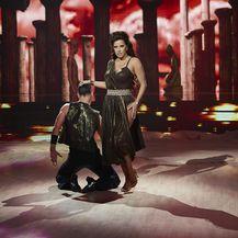 Ples sa zvijezdama, Nives Celzijus i Mateo Cvenić (Foto: Nova TV)
