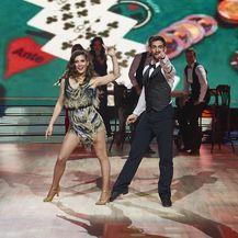 Ples sa zvijezdama, Ana Vučak Veljača i Mario Ožbolt (Foto: Nova TV)