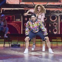 Ples sa zvijezdama, Ecija Ojdanić i Marko Šapina (Foto: Nova TV)
