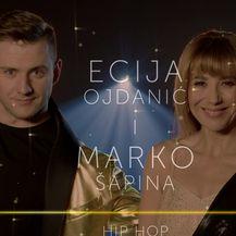Ples sa zvijedama: Nastup Ecije Ojdanić i Marka Šapine (Video: Ples sa zvijezdama)