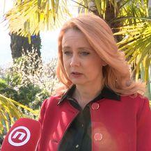 Predsjednica Hrvatske komore primalja Barbara Finderle (Foto: Dnevnik.hr)