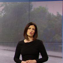 Vremensku prognozu donosi Damjana Ćurkov (Video: Dnevnik Nove TV)