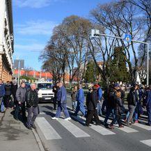 Prosvjed radnika Uljanika (Foto: Dusko Marusic/PIXSELL) - 4