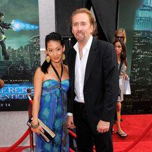 Nicolas Cage i Alice Kim (Foto: AFP)