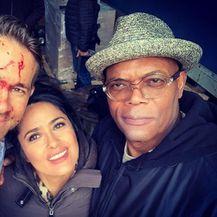 Ryan Reynolds, Salma Hayek, Samuel L. Jackson (Foto: Instagram)
