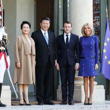 Brigitte i Emmanuel Macron o društvu kineskog predsjednika i kineske prve dame
