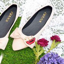 I cipele s ravnim potplatom mogu biti savršen izbor za vjenčanje