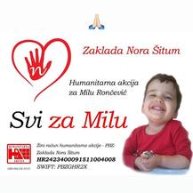 Hrvatski sportaši u akciji za Milu (Screenshot)