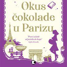 Naslovnica knjige Okus čokolade u Parizu