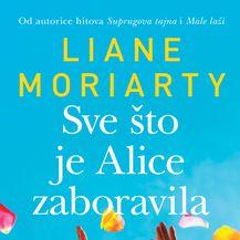 Naslovnica knjige Sve što je Alice zaboravila