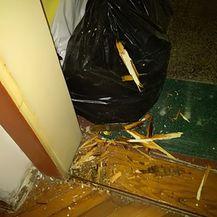 Lopovi provalili u stan prazan nakon potresa