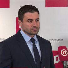 Davor Bernardić, predsjednik SDP-a