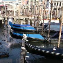 Niska razina vode u venecijanskim kanalima - 3