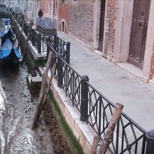 Niska razina vode u venecijanskim kanalima - 5