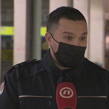 Mate Lukić, voditelj postrojbe zadarske Civilne zaštite