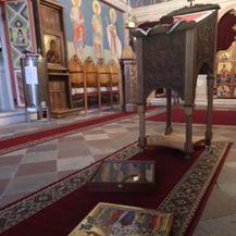 Provala u šibenski pravoslavni hram - 1