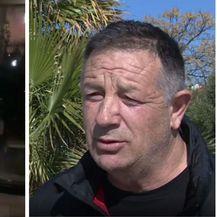 Ante Gotovina (lijevo)/načelnik Općine Pakoštane Milivoj Kurtov