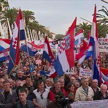 Prosvjed protiv Istanbulske konvencije - 1