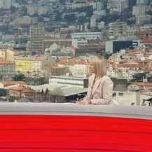 Marko Filipović, kandidat za gradonačelnika Rijeke, i Sabina Tandara Knezović