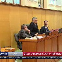 Željko Reiner član Viteškog reda (Video: Dnevnik Nove TV)