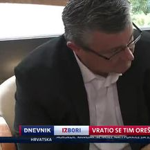 Vratio se Tim Orešković (Video: Dnevnik Nove TV)