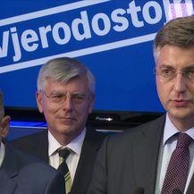 Obraćanje Andreja Plenkovića (Video: Dnevnik.hr)