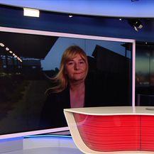 Anita Martinović uživo iz Potnjana (Video: Dnevnik Nove TV)