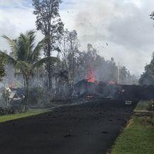 Erupcija vulkana i potres na Havajima (Foto: AFP)
