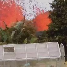 Havaji: Lava u dvorištu (Foto: screenshot/Reuters) - 1