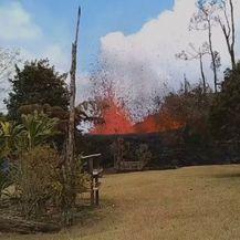Havaji: Lava u dvorištu (Foto: screenshot/Reuters) - 2