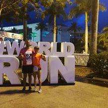 Željka Šaban Miličić utrku je istrčala na Floridi (Foto: Željka Šaban Miličić)
